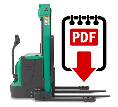 Mitsubishi forklift PMWT15N series manuals Download PDFs instantly