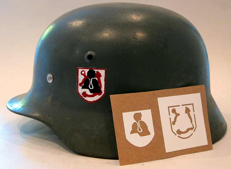 Ww2 German Helmet Decals Transfers And Stencils Warhatscom