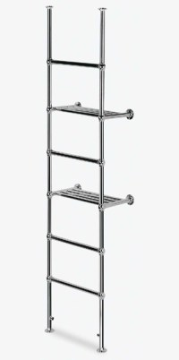! Venue 8 Ball Jointed Towel Rails - Traditional Towel ...