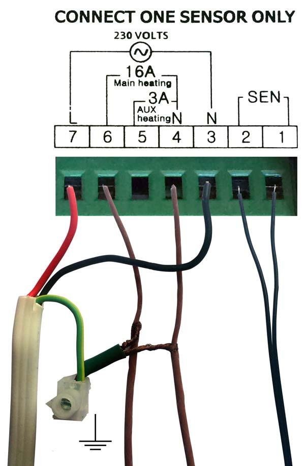 Warmfloor TH1 Electronic Thermostat - Warmfloor Underfloor Heating