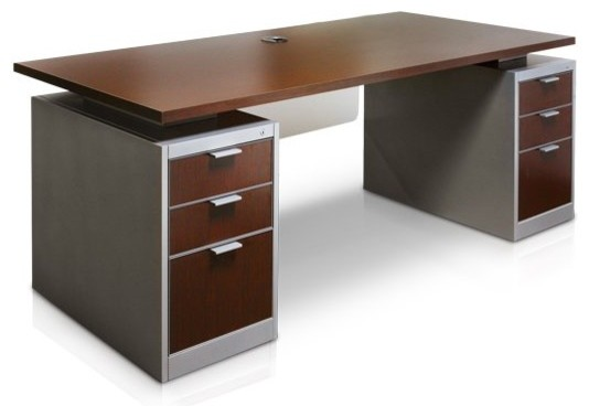 Office Desk - Warm Front Upholstery