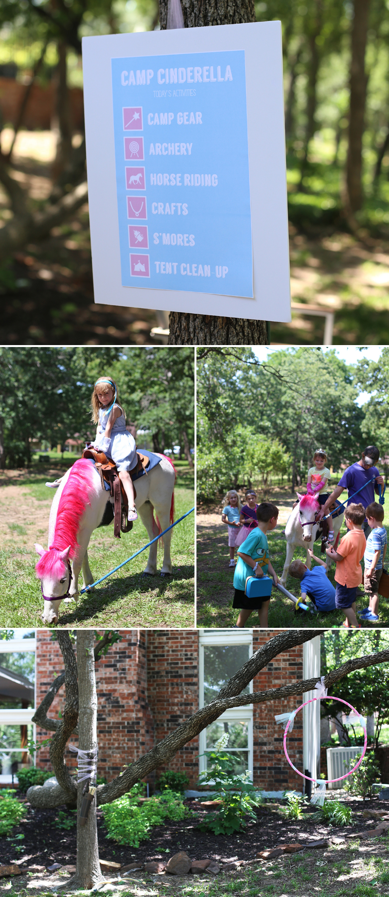 Camp Cinderella activities