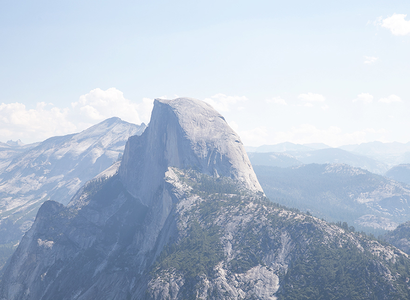 Half Dome at Glacier Point