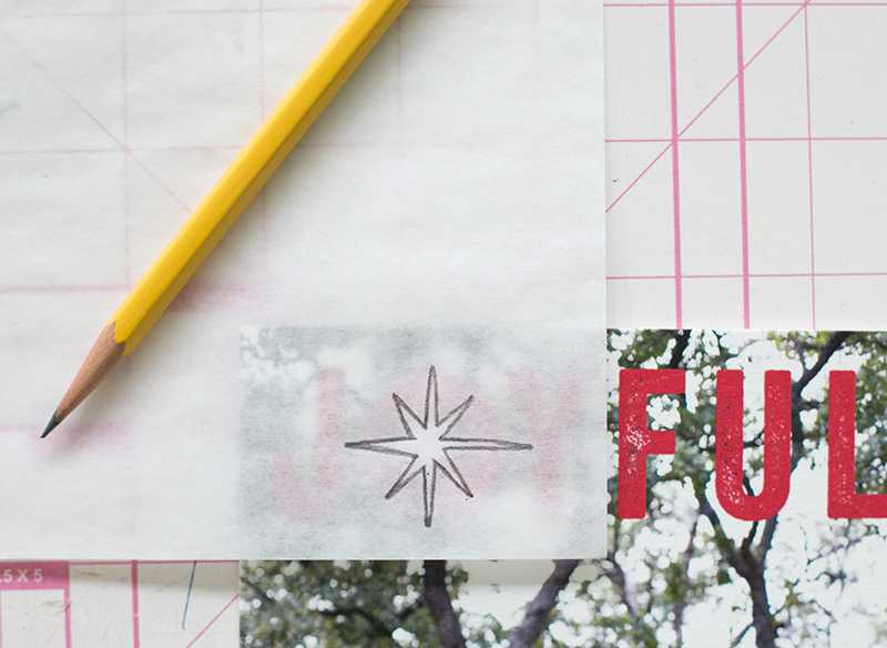 Add a personal touch to your holiday cards by creating your own matching stamp . It's super easy with this tutorial.