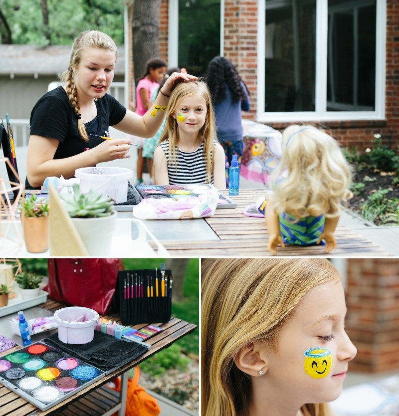 Emoji Face Painting