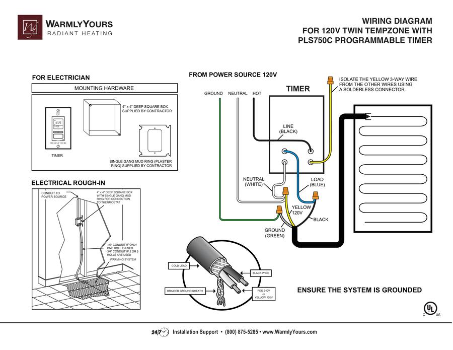 led bathroom mirror wiring diagram