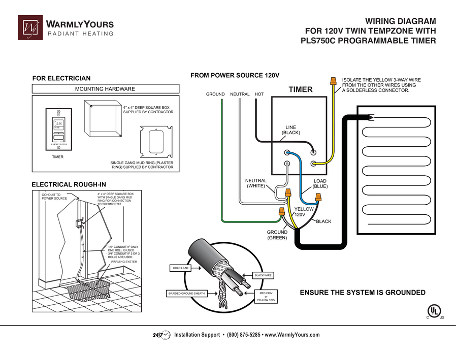 eletric furnace wire diagram