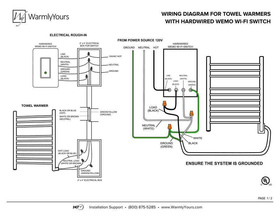 wiring diagram 5 room with basement