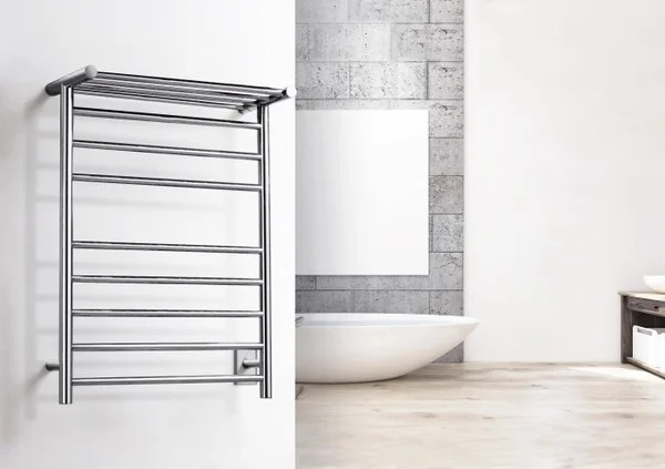 Towel Warmer Electric Heated Towel Racks by WarmlyYours