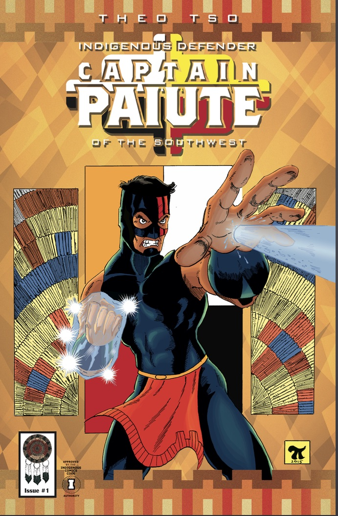 Captain Paiute Issue #1 is here!!