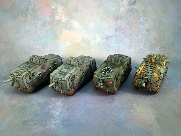 FoW-GW-GE - A7V - All