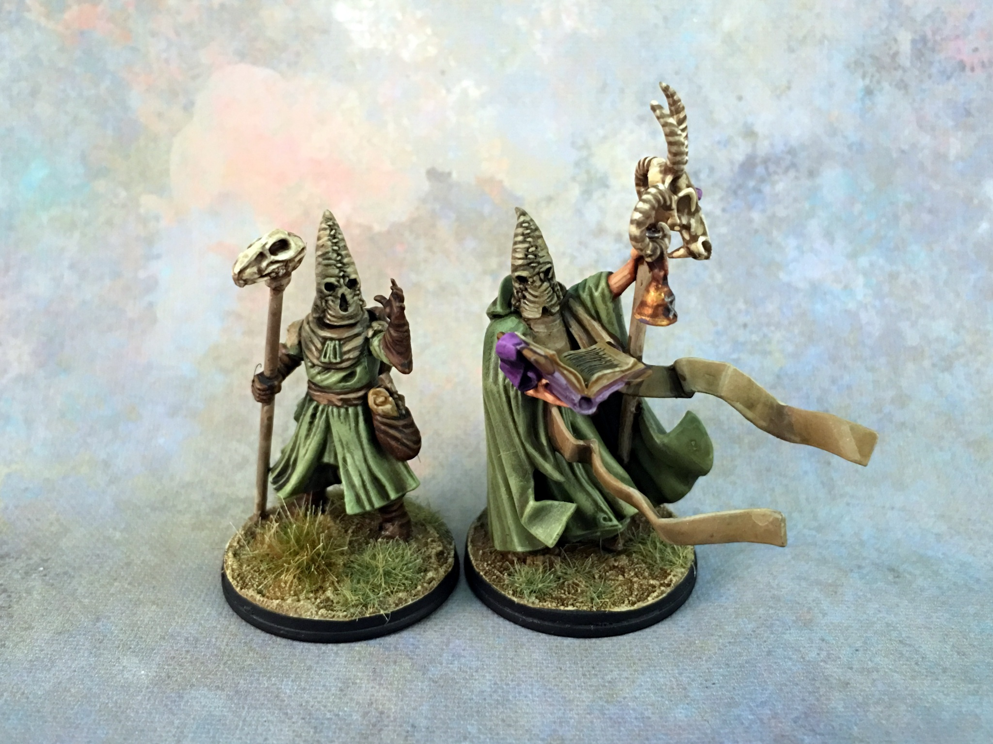 Frostgrave - Cultists Wizards
