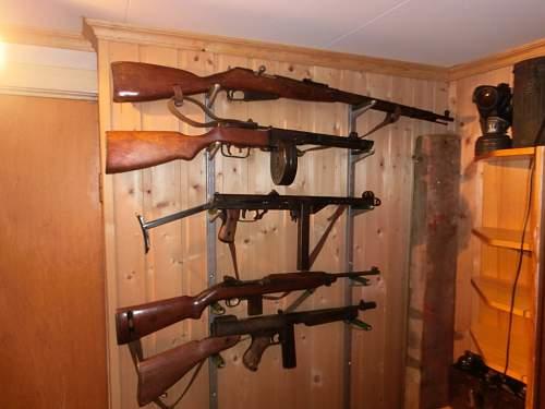 New Gun Rack