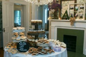 Pie & Cupcake Table