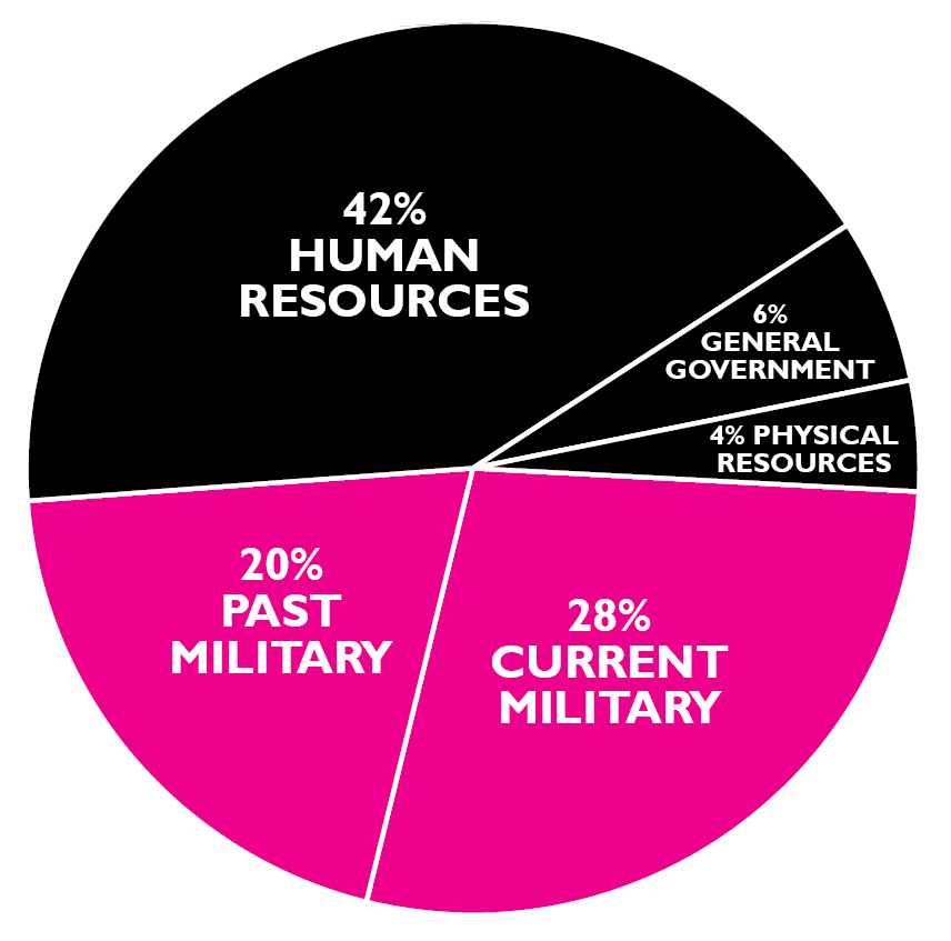 Federal Budget 2018 Pie Chart - Arenda-stroy