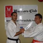 Philip Ma, our first Kyokushin-Kan orange belt