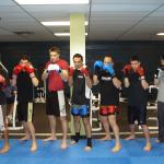 Kickboxing Class at Richmond Sports Club