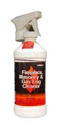 StoveBright Fireplace Masonry & Gas Log Cleaner 454ml/16oz ...