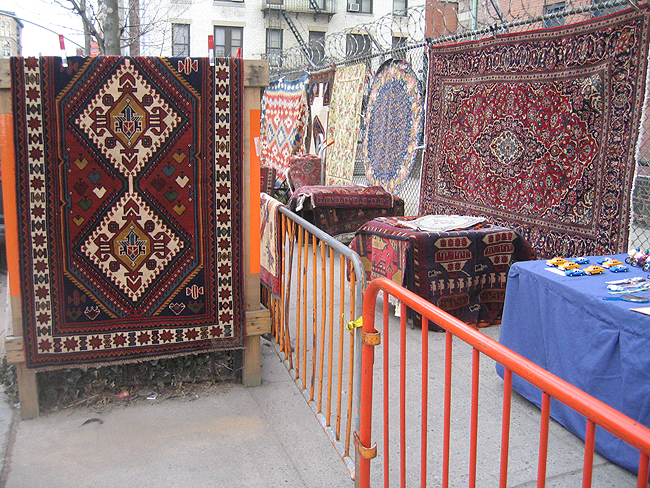That Rug Really Tied The Room Together War Rugs From