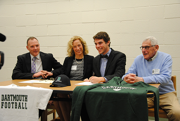 WVHS Senior Davis Brief signs National Letter of Intent for