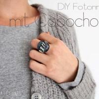 DIY Cabochon-Foto-Ring [Anleitung zum Selbermachen]