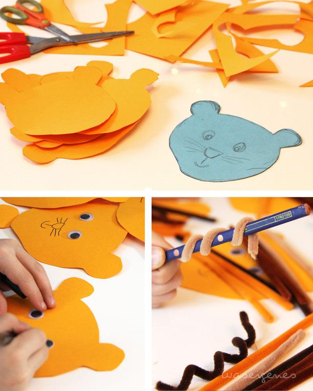 DIY Einladung Kindergeburtstag Löwe waseigenes blog 3