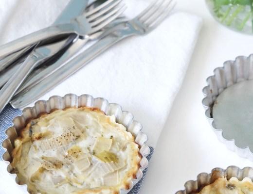 Rezept- Chicoree Roquefort Tartelettes   was eigenes Blog start