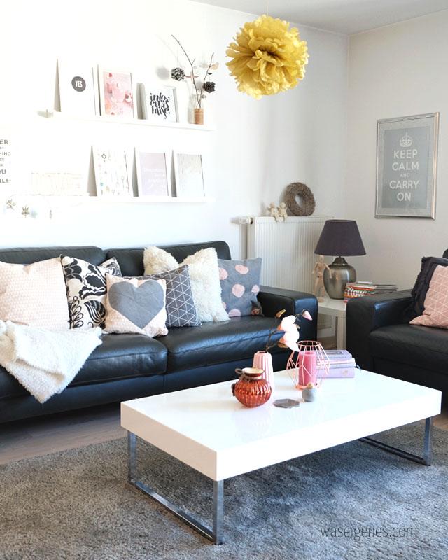 Wohnzimmer Ideen Schwarz Weiss Grau - Design