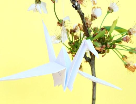 Origami Kranich   waseigenes.com
