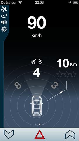 iCoyote Bildschirmfoto