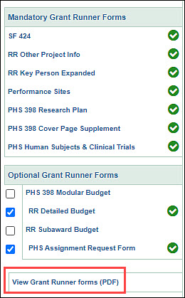 Grant Runner Single PDF - SAGE