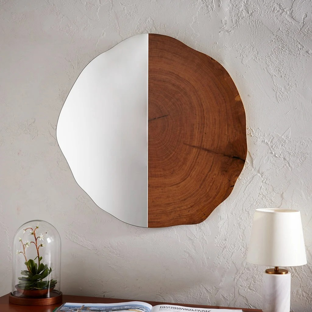 Sweet Mirror At West Accessories That Will Beautify Your Blah Bathroom West Elm Mirror Coffee Table West Elm Mirror Tray baby West Elm Mirrors