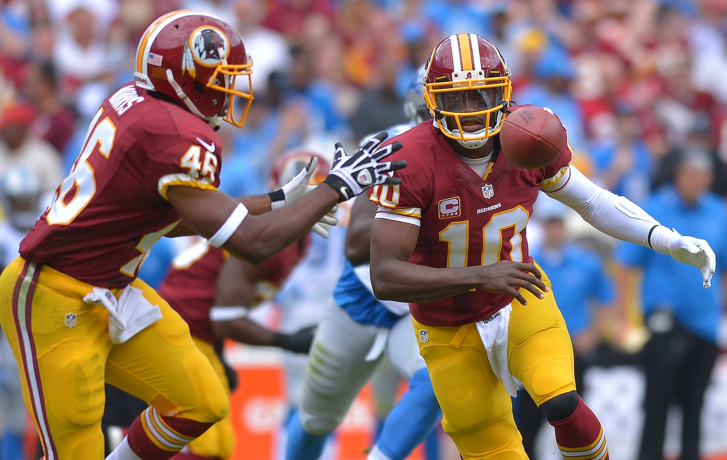 As Robert Griffin III struggles, Washington Redskins shut down Alfred Morris themselves - The ...