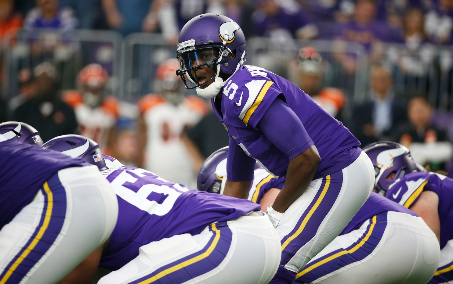 After nearly losing his leg, Teddy Bridgewater makes an emotional return for the Vikings - The ...
