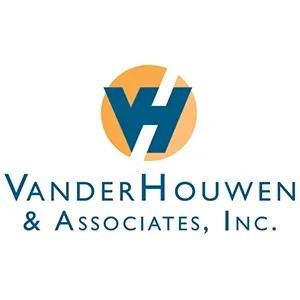 Logo bug above VanderHouwen & Associates 1053 pixels long