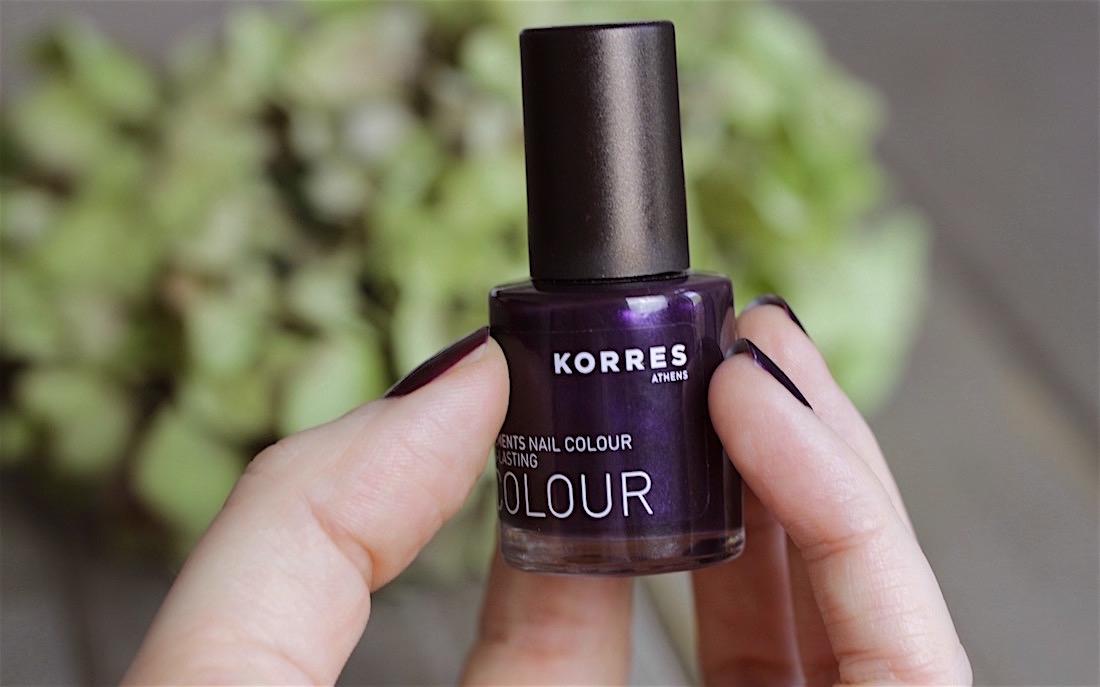 """Hält lange – KORRES Nail Colour """"ultra violet"""""""