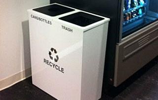 Steel Recycling Bins Containers Indoor Outdoor
