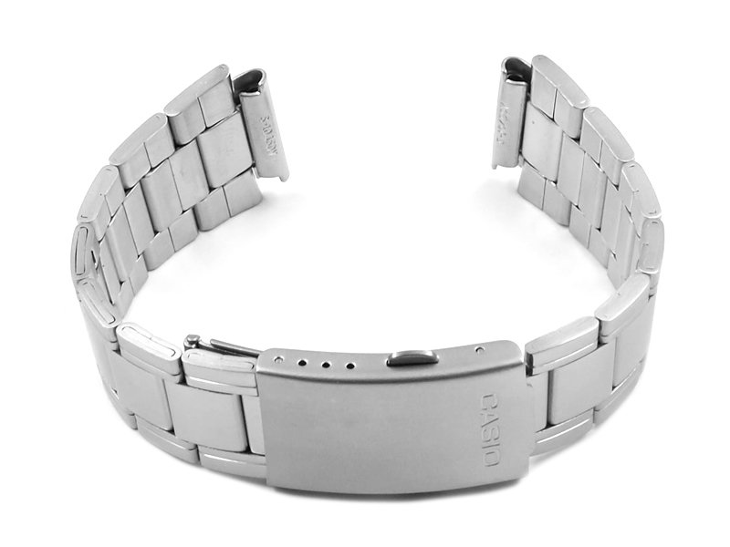 Watch Strap Bracelet Casio For Aw 81d Stainless Steel