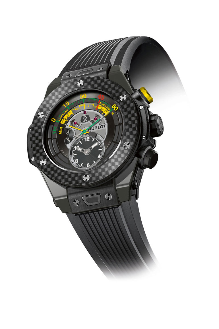 La Big Bang Unico Chrono Bi-Retrograde, montre officielle de la coupe du monde 2014 par Hublot