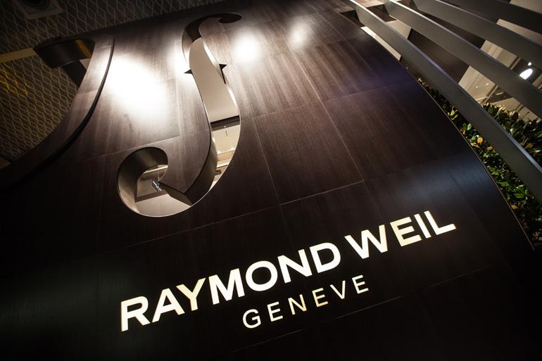 Stand de Raymond Weil à Baselworld