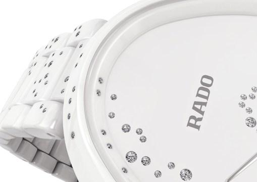 Rado Esenza Ceramic Touch Jubilé 132 blanche