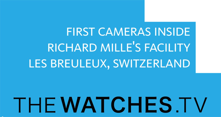 Richard Mille Facility Video