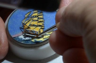 L'art de l'émaillage chez Ulysse Nardin