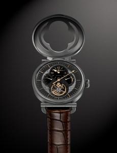 La montre, capot ouvert