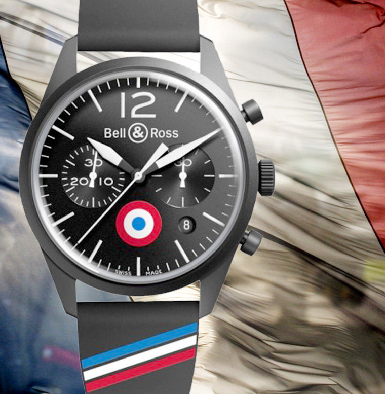 Bell&Ross_BR126_Vintage_Air_force_Insignia_drapeau_mirage