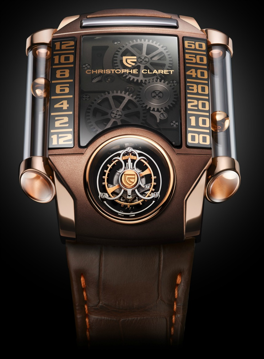 Christophe Claret-X-TREM 1 Chocolate face