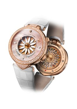 Christophe Claret Margot Or Rose neige
