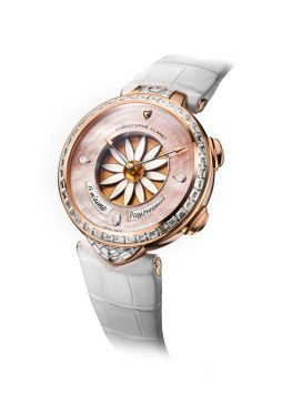 Christophe Claret Margot Or Rose diamant baguette