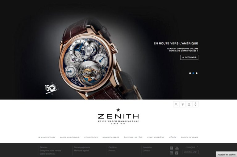 Capture Site Zenith Fevrier 2015