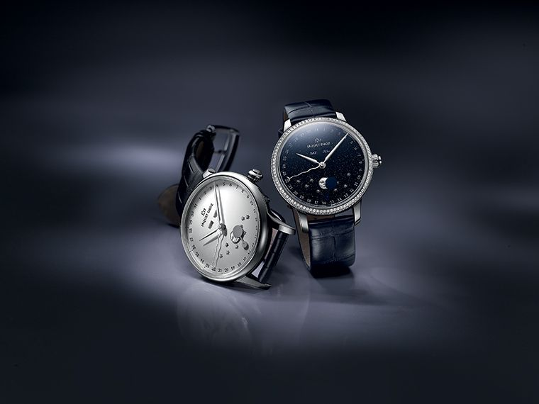 Jaquet Droz Aventurine Eclipse Duo Dark Silver